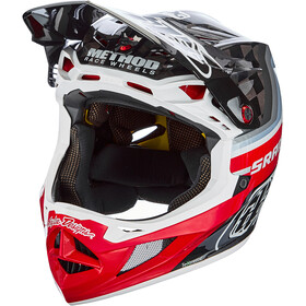 Troy Lee Designs D4 Carbon MIPS Mirage Casco, sram black/red